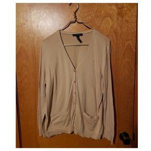 Ralph Lauren Button-Up Sweater